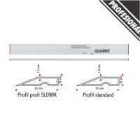 Dreptar Aluminiu Trapezoidal LT18116