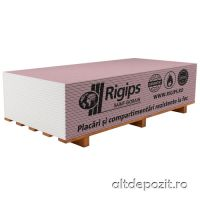 Placa Gips Carton Rigips RF