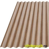 Tabla Ondulata Vopsita Wood S18