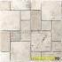 Mozaic Travertin Light Tumbled Pattern
