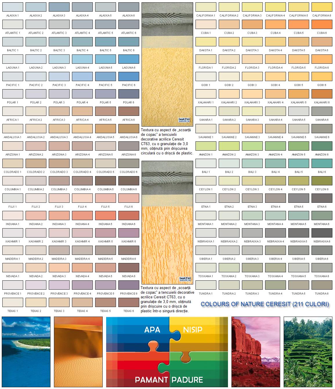 Paleta De Culori Tencuiala Decorativa.Tencuiala Decorativa Ct63 Altdepozit